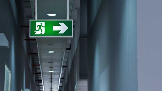 Some of the emergency lighting we have installed